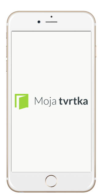 Moja Tvrtka logo iphone