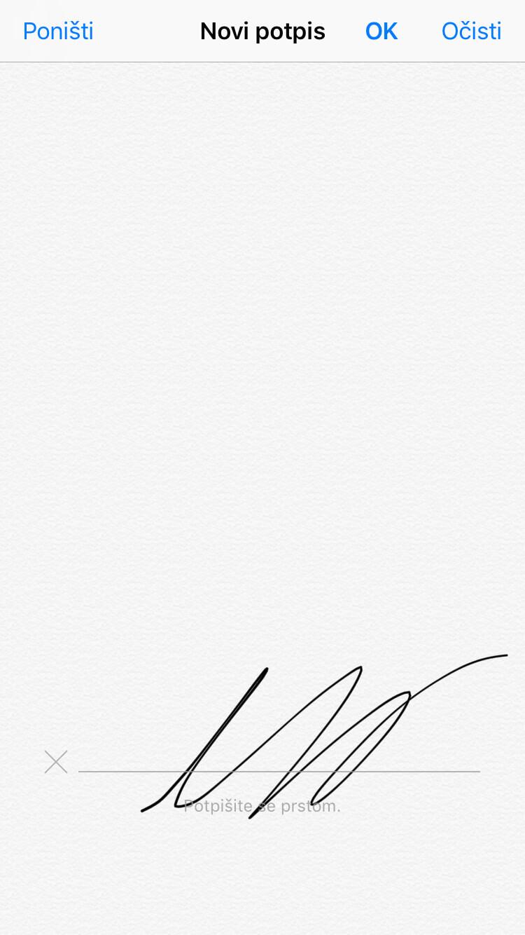 Digitalni potpis u aplikaciji Moja Tvrtka